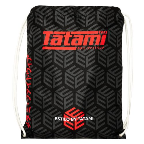 Tatami Estilo Black Label BJJ Gi Black Red