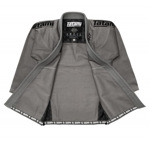 Tatami Estilo Black Label BJJ Gi Grey Black