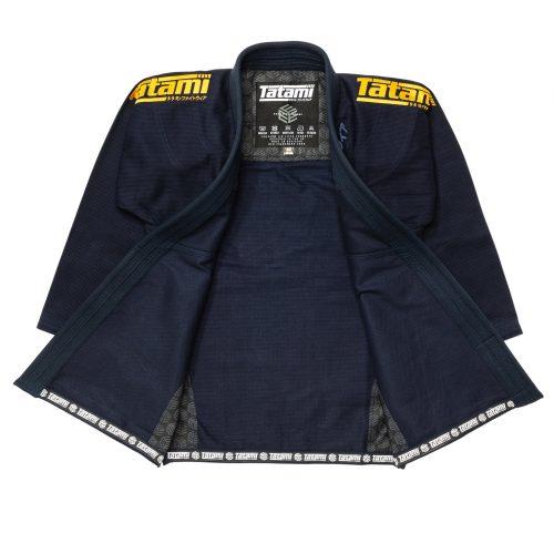 Tatami Estilo Black Label BJJ Gi Navy Gold