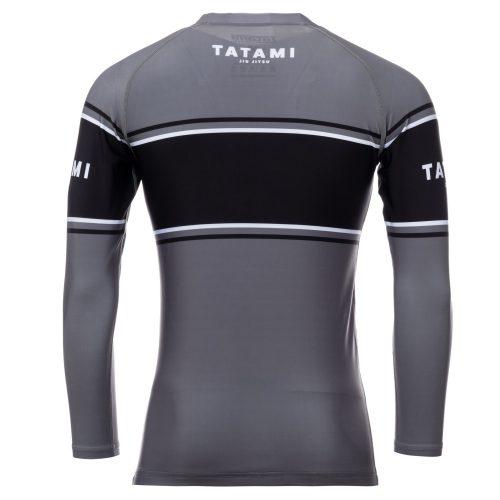 Tatami Fraction Long Sleeve Rash Guard Grey