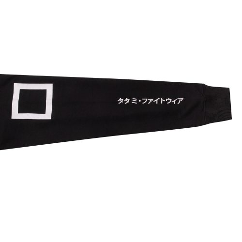 Tatami Katakana Sweater Black