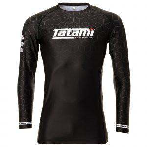 Tatami IBJJF 2021 Ranked Long Sleeve Rash Guard Black