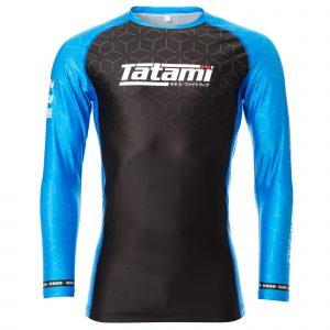 Tatami IBJJF 2021 Ranked Long Sleeve Rash Guard Blue