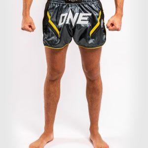Venum ONE FC Impact Muay Thai Shorts Grey Black