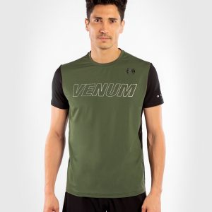 Venum Classic Evo Dry Tech T-Shirt Khaki Silver