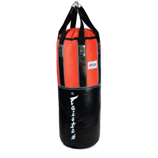"""Designed for Muay Thai stand-up clinching, kneeing, punching and kicking drills 💥 Fairtex HB3 Extra Large Leather Heavy Bag available Filled or Unfilled now 🥊 - Use """"INSTA10"""" for 10% off your purchase at www.minotaurfightstore.co.uk! The best Boxing, Muay Thai, MMA, BJJ & No Gi gear at the best prices. - 🇬🇧 FREE UK Shipping 🌎 Worldwide Shipping Available!"""
