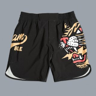"Scramble Tigre Shorts 🐅 - ""Based on our Core / Base shorts set but this time featuring a badass tiger with some lightning in its mouth. I honestly don't think you can get anything cooler – unless the tiger was in tiger camo and the lightning had rockets coming out of it and / or a speedboat."" @scramblebrandofficial - Use ""INSTA10"" for 10% off your purchase at www.minotaurfightstore.co.uk! The best Boxing, Muay Thai, MMA, BJJ & No Gi gear at the best prices. - 🇬🇧 FREE UK Shipping 🌎 Worldwide Shipping Available!"