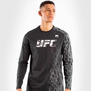 """Venum UFC Authentic Fight Week Long Sleeve T-Shirt. 🔥 - Use """"INSTA5"""" for 5% off your purchase at www.minotaurfightstore.co.uk! The best Boxing, Muay Thai, MMA, BJJ & No Gi gear at the best prices. - 🇬🇧 FREE UK Shipping 🌍 Worldwide Shipping Available!"""