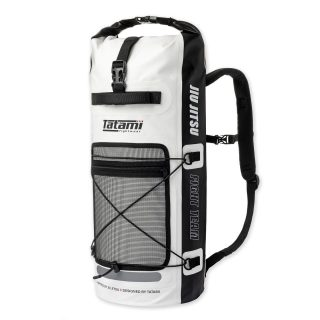 """Tatami Drytech Gear Bag White Black. 🔥 - Use """"INSTA5"""" for 5% off your purchase at www.minotaurfightstore.co.uk! The best Boxing, Muay Thai, MMA, BJJ & No Gi gear at the best prices. - 🇬🇧 FREE UK Shipping 🌍 Worldwide Shipping Available!"""